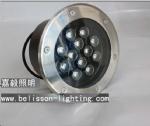9W High Power LED Underground Light