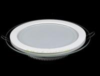 Round Glass LED Panel